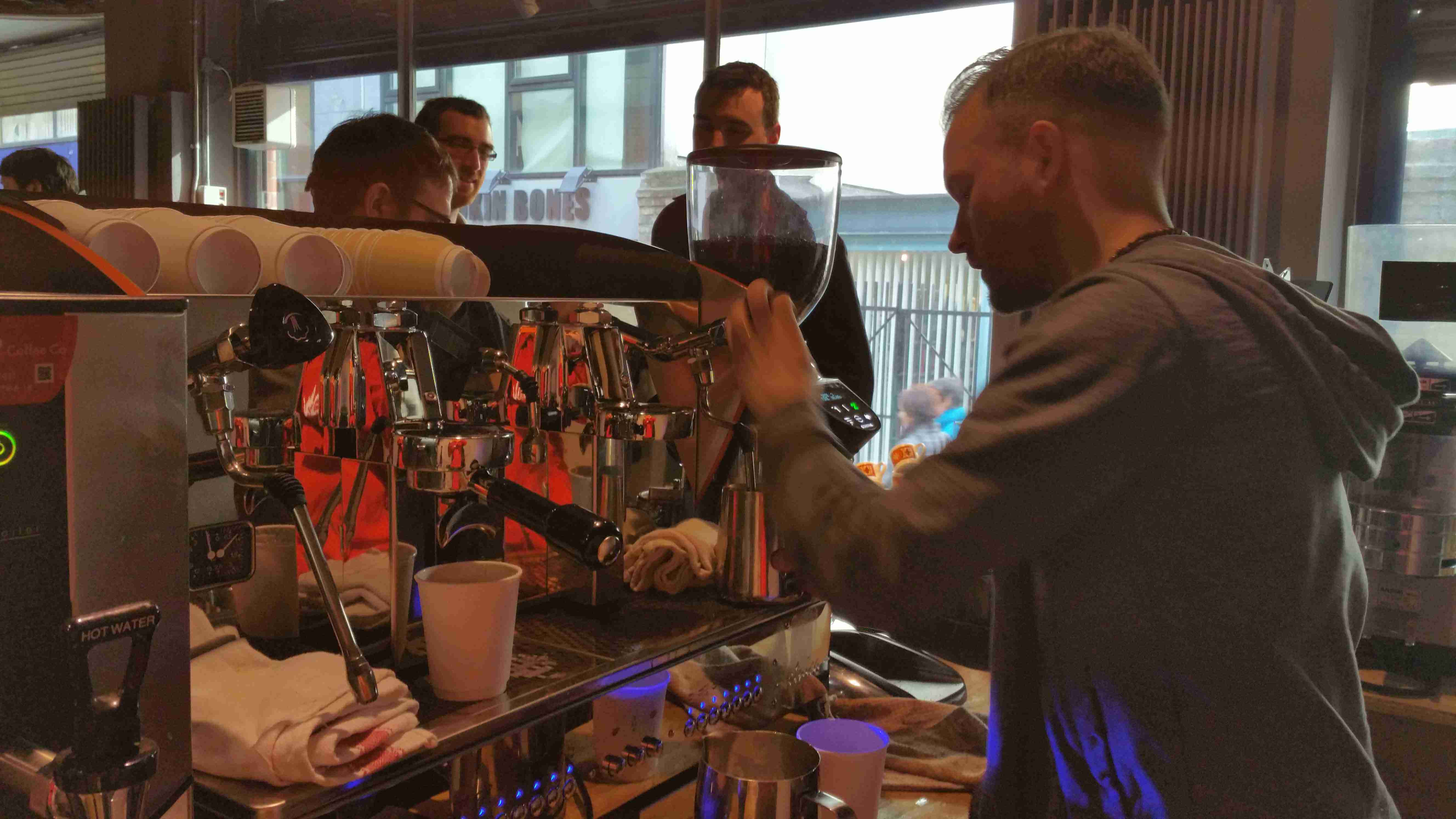 "Vero Sponsored the Launch of ""Full Circle Roasters"""
