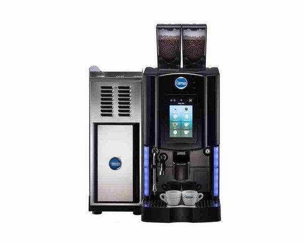 Carimali-Optima-Soft-Plus-black-with-fridge-front
