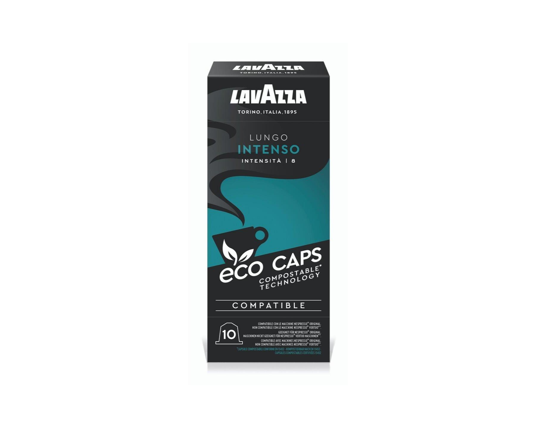 Lavazza Nespresso Compatible Capsule Lungo Intenso - Vero ...